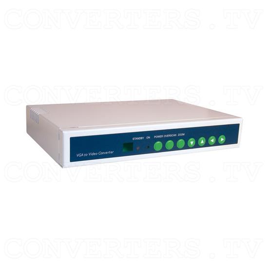 VGA to NTSC / PAL Video Converter / Convertor (CPT-360) - Full View