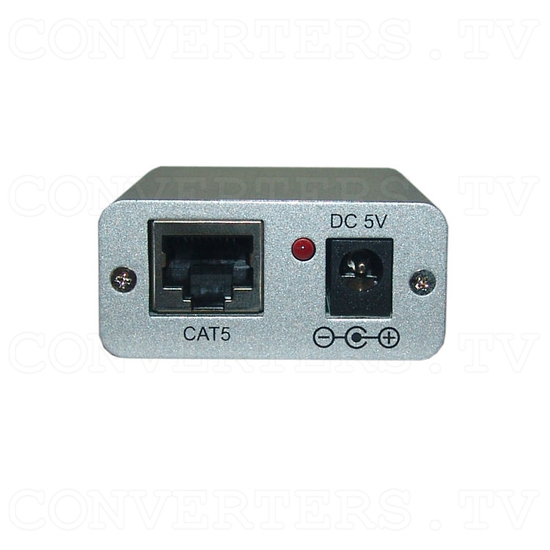 RS-232 Over CAT5 Cable Transmitter and Receiver Extender - Transmitter - Front View