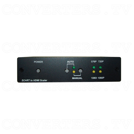 SCART to HDMI v1.3 Scaler Box - Front View