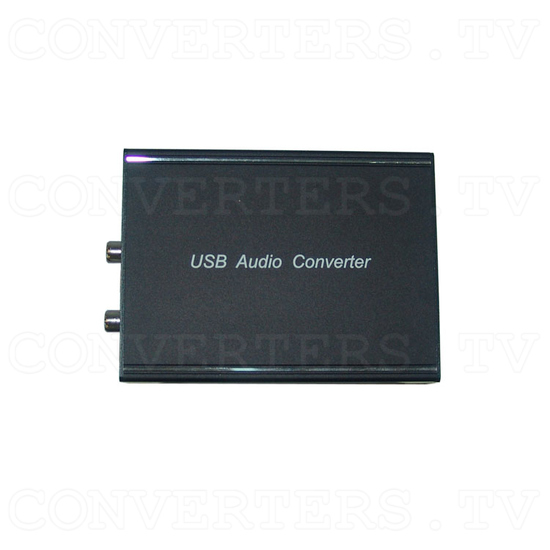 USB/Optical to Analog Audio Converter - Top View