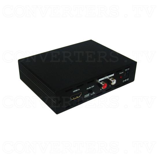 HDMI to 3G SDI Dual Output Converter - Angle View