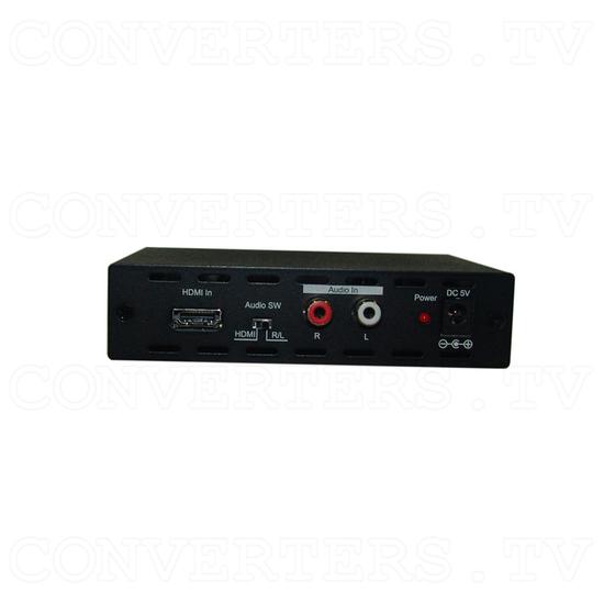 HDMI to 3G SDI Dual Output Converter - Back View