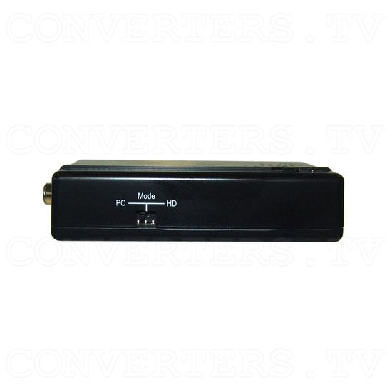 PAL/NTSC Video To HDMI Converter with Audio Input - Side View
