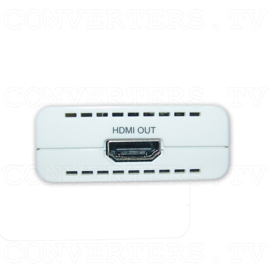 HDMI Over One CAT6 Transmitter and Receiver - Receiver - Front View
