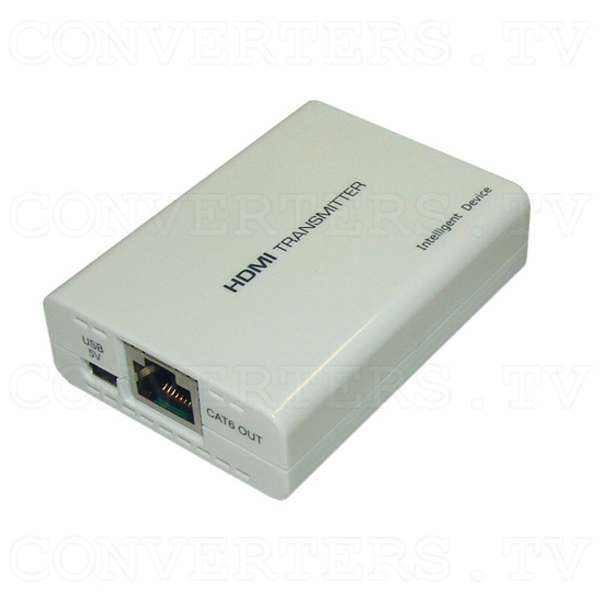 HDMI Over One CAT6 Transmitter and Receiver - Transmitter - Full View