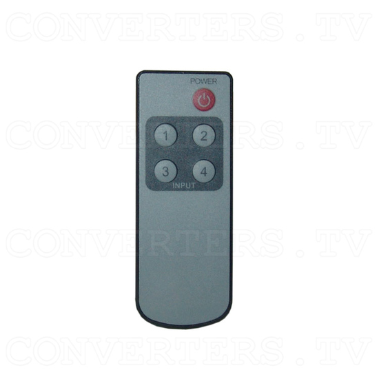 Optical Audio Switcher 4 In 1 Out with Remote Control - Remote