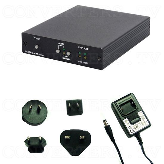 SCART to HDMI v1.3 Scaler Box - Full Kit