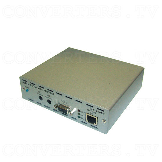 HDMI and IP Over Single CAT6 Extender - Transmitter - Full View