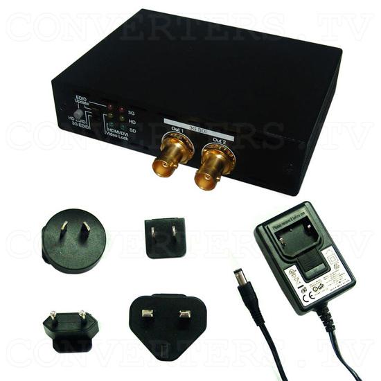 HDMI to 3G SDI Dual Output Converter - Full Kit