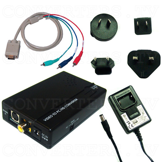 Video to PC/HD Converter - Full Kit