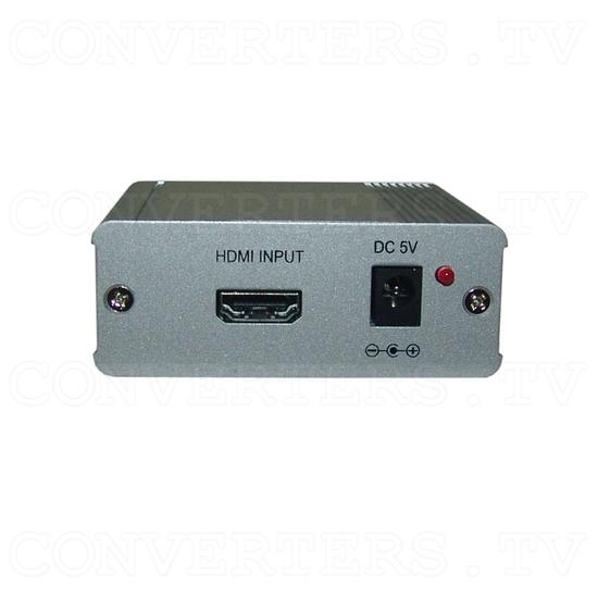 HDMI v1.3 Over One CAT6 Transmitter - Transmitter - Back View