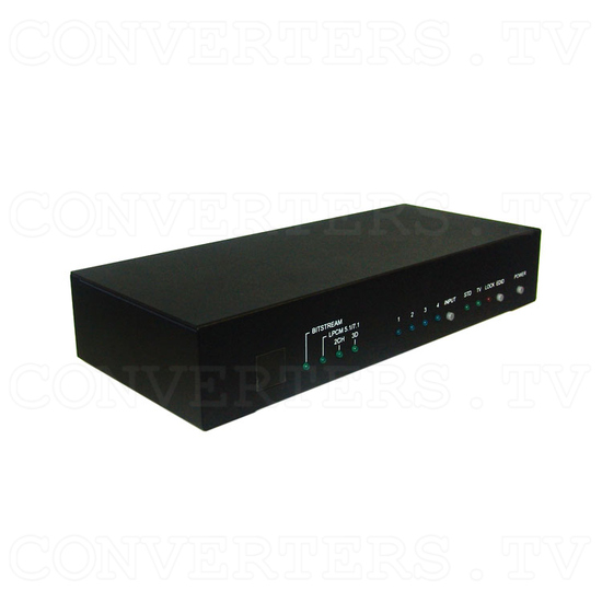 HDMI v1.4 4 In 2 Out Switch - Full View