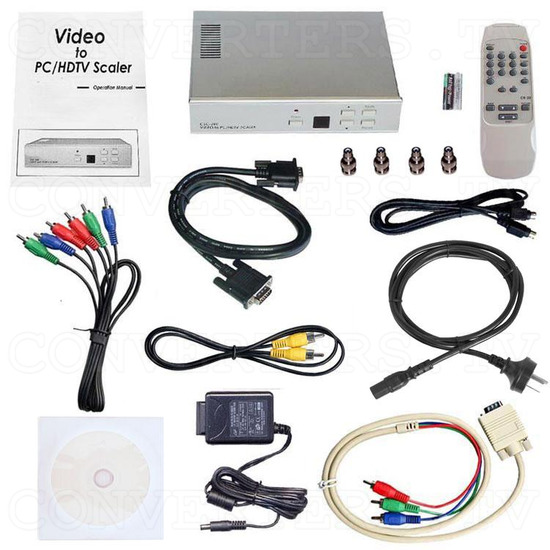 Magic View Video Scaler with RS 232 - CSC-200RS - Full Kit