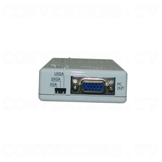 Composite Video/S - Video to PC Converter - Back View
