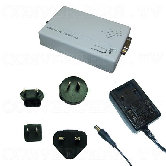 Composite Video/S - Video to PC Converter - Full Kit