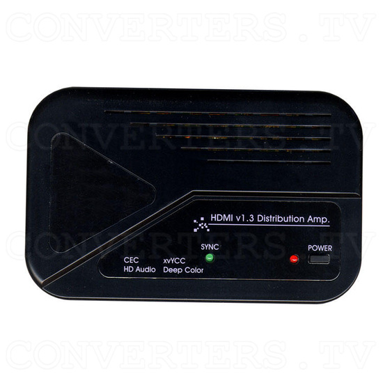 HDMI v1.3 1 In 2 Out Splitter with CEC - Top View
