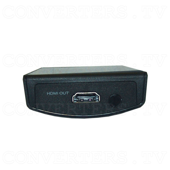 Video and Component to HDMI Scaler Box - CHQV-3H - Front View