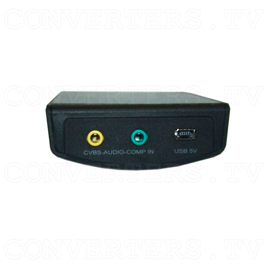 Video and Component to HDMI Scaler Box - CHQV-3H - Back View