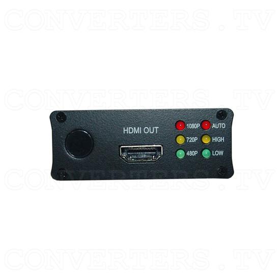 HDMI to HDMI HQV Scaler - CHQV-2H - Back View