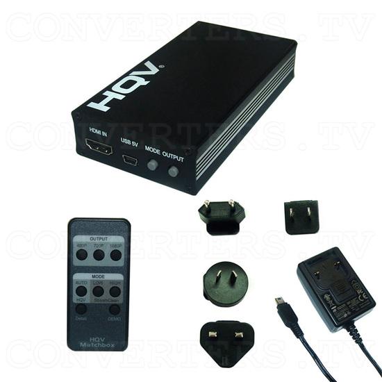HDMI to HDMI HQV Scaler - CHQV-2H - Full Kit