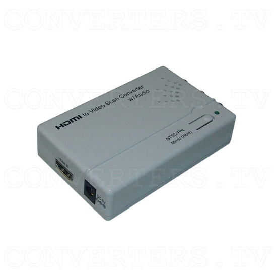 HDMI to Video Scan Converter with Audio Output - Full View