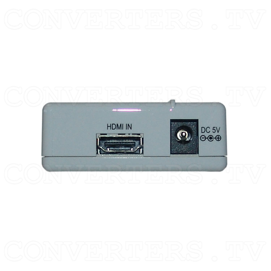 HDMI to Video Scan Converter with Audio Output - Front View