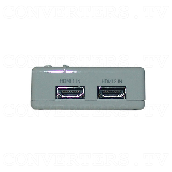 HDMI 2 In 1 Out Switcher - Front View