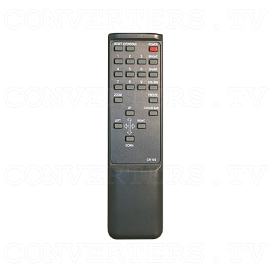 VGA to NTSC / PAL Video Converter / Convertor (CPT-360) - Remote Control