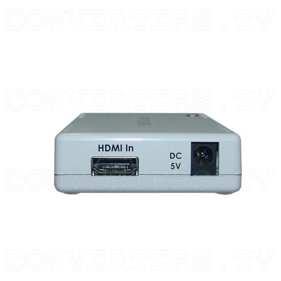 HDMI to HDMI Scaler Box - Back View