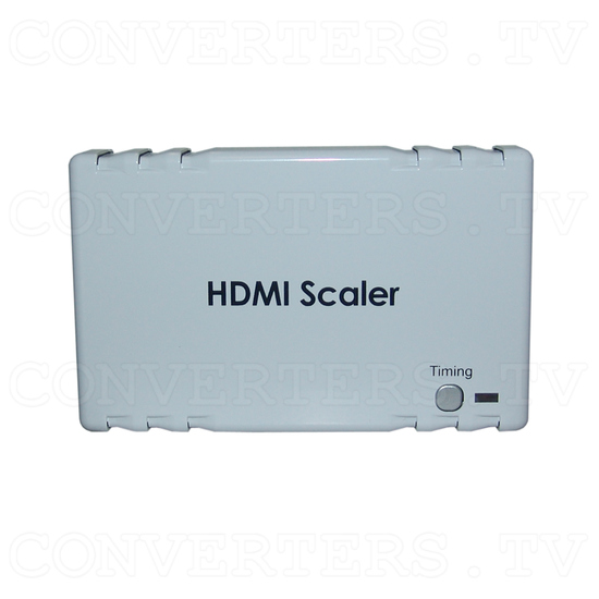 HDMI to HDMI Scaler Box - Top View