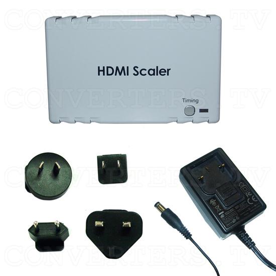 HDMI to HDMI Scaler Box - Full Kit