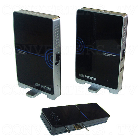 HDMI HD Wireless Transmitter & Receiver System w/4 Input Switch - Full View