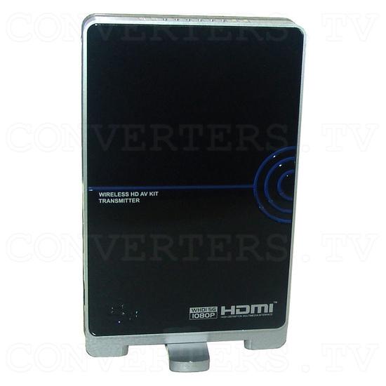 HDMI HD Wireless Transmitter & Receiver System w/4 Input Switch - Transmitter - Side