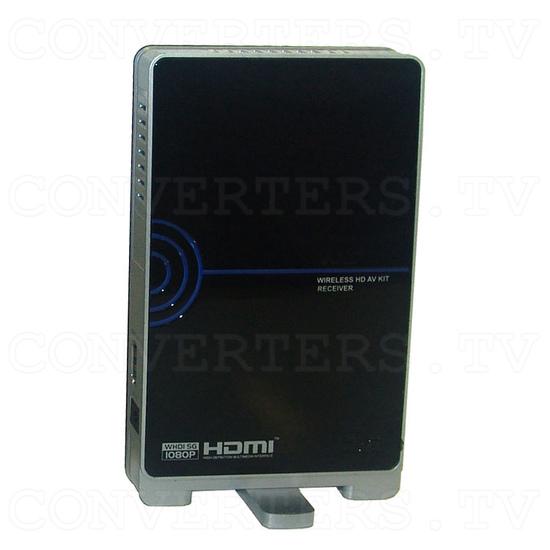HDMI HD Wireless Transmitter & Receiver System w/4 Input Switch - Receiver - Side