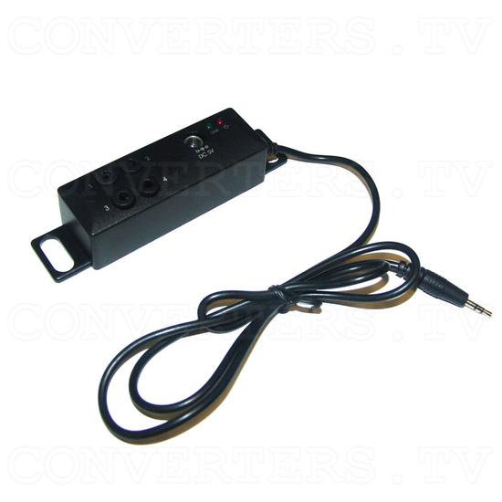 HDMI HD Wireless Transmitter & Receiver System w/4 Input Switch - IR Extender
