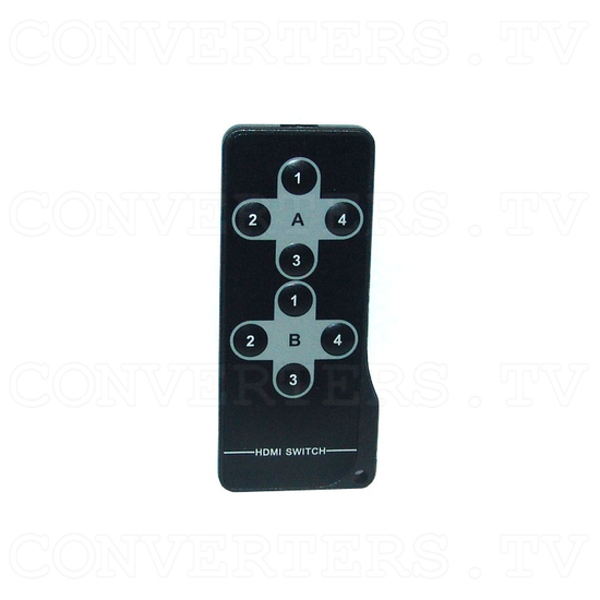 HDMI HD Wireless Transmitter & Receiver System w/4 Input Switch - Remote
