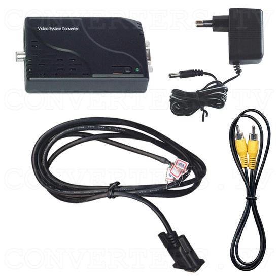 NTSC / PAL to NTSC RGB Sync Converter - Full Kit