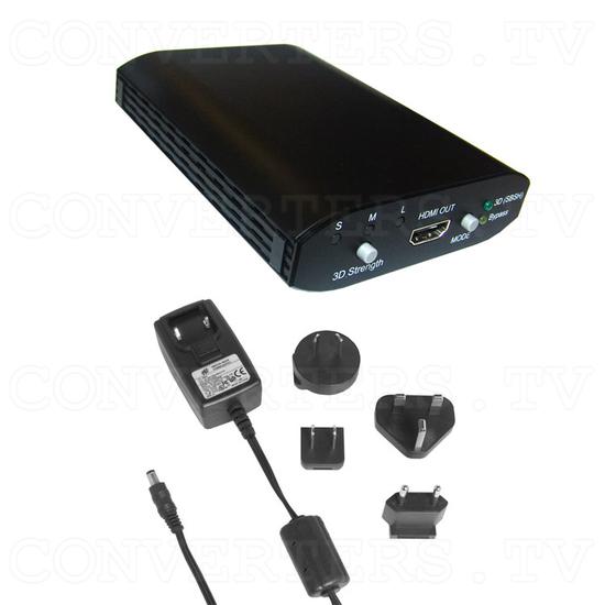 2D to 3D Media Box - Full Kit