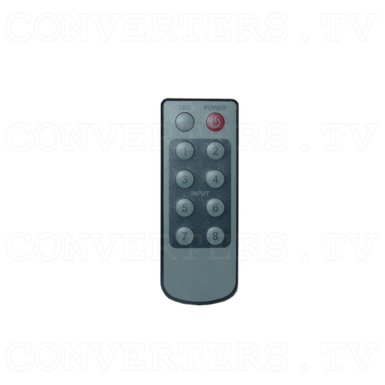 HDMI v1.3 4 In 1 Out Switcher with CEC - Remote