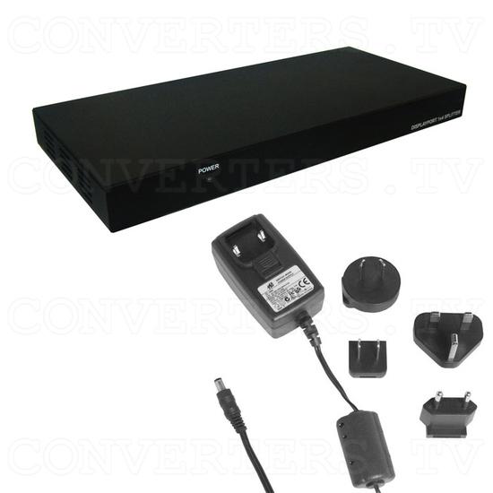 DisplayPort 1 In 4 Out Splitter - Full Kit