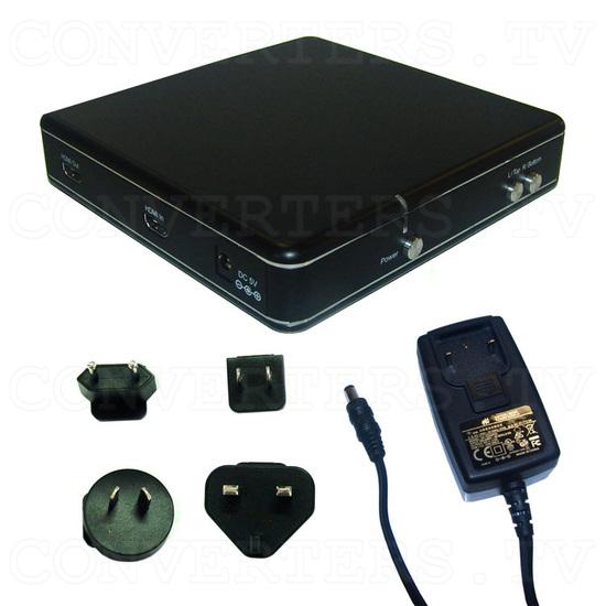 3D to 2D Demultiplexer Box - CH-322 - Full Kit