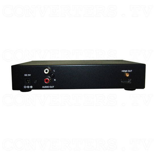 Video Wall Controller Processor for Video Walls - with RS232 and VGA/HDMI Upscale - Back View