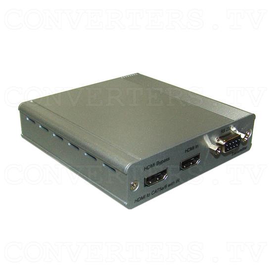 HDMI v1.4 Over Single CAT5e/CAT6 - Transmitter - Full View