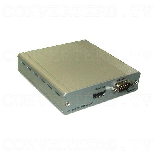 HDMI v1.4 Over Single CAT5e/CAT6 - Receiver - Full View