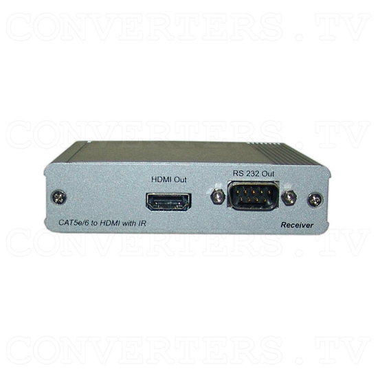 HDMI v1.4 Over Single CAT5e/CAT6 - Receiver - Front