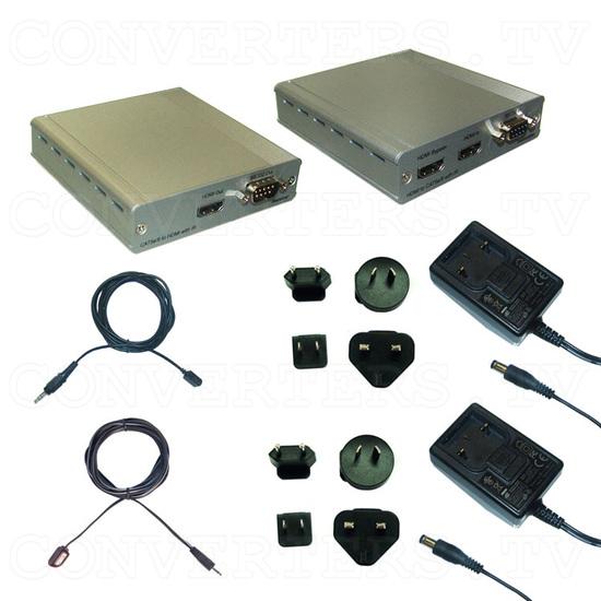 HDMI v1.4 Over Single CAT5e/CAT6 - Full Kit