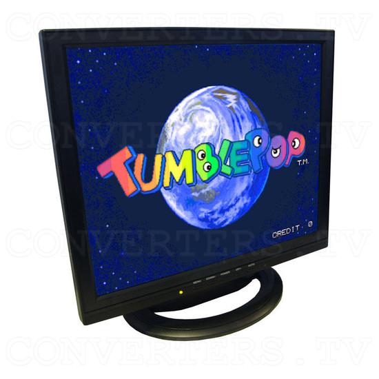 17 inch CGA EGA VGA LCD Desktop Monitor - Multi-Frequency - Full View