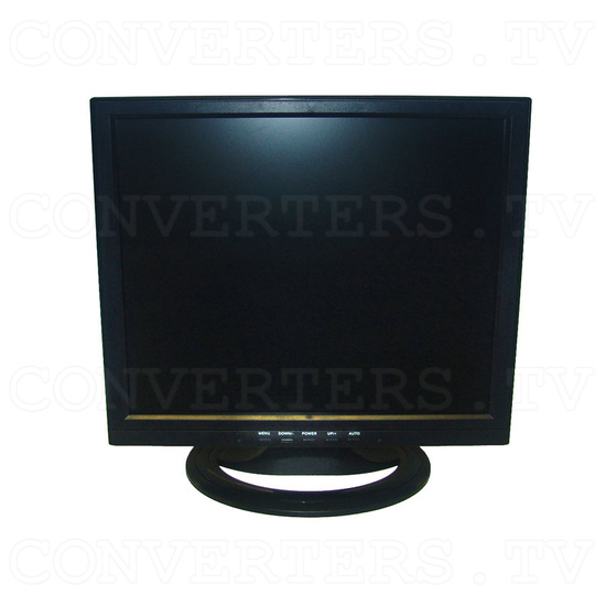 17 inch CGA EGA VGA LCD Desktop Monitor - Multi-Frequency - Front View