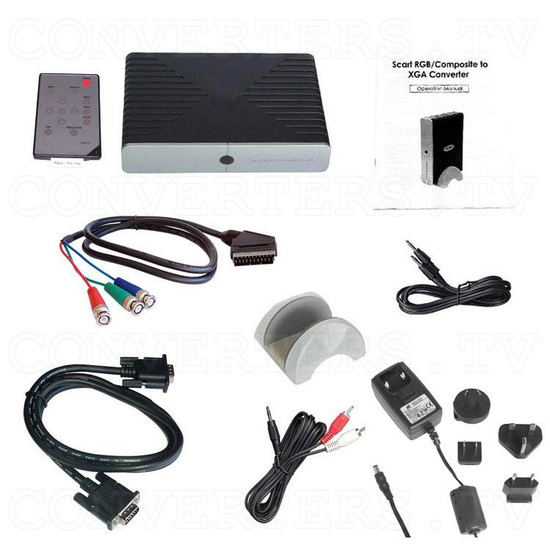 15k RGB Sync on Green to VGA / XGA Converter - Full Kit