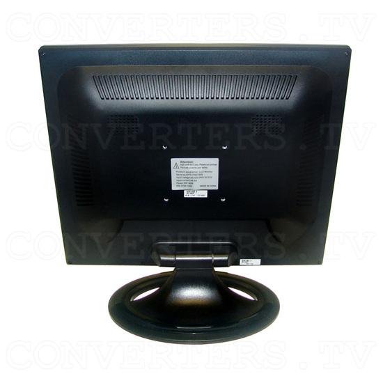 17 inch CGA EGA VGA LCD Desktop Monitor - Multi-Frequency - Back View